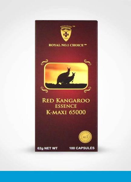 Royal No.1 Choice Red Kangaroo Essence K-Maxi 65000 / 100 Capsules