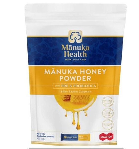 Manuka Health Manuka Honey Powder with Pre & Probiotics