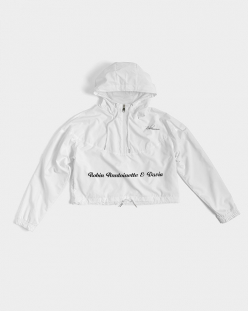 Robin Anntoinette and Davia Cropped Windbreaker