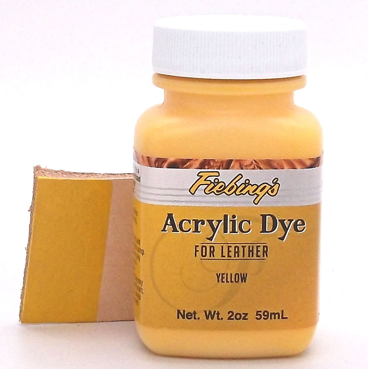 Yellow Fiebing's Acrylic Leather Paint
