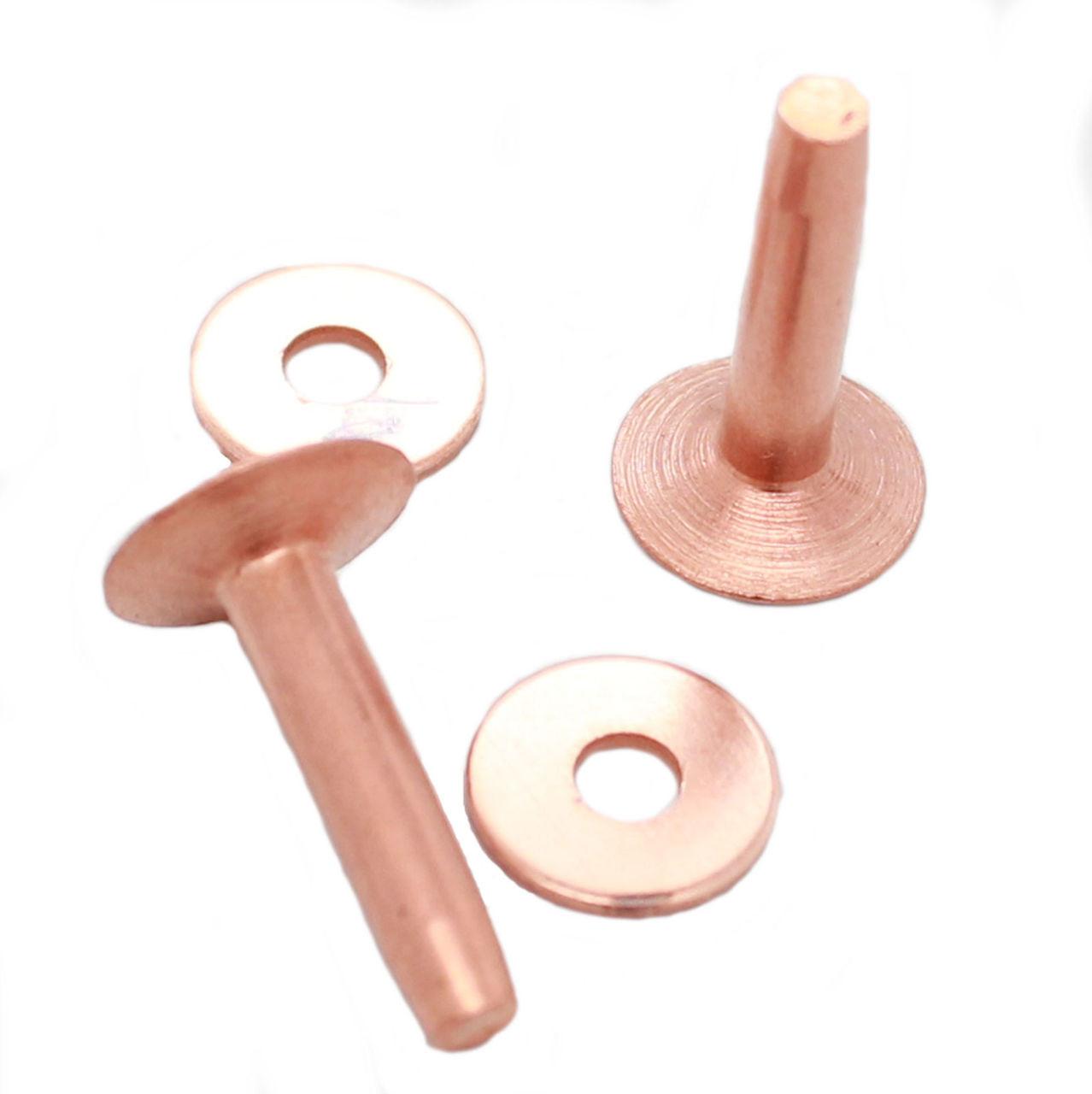 Osborne Copper Rivets 1 lb box (Appx. 135 Count) Size 10