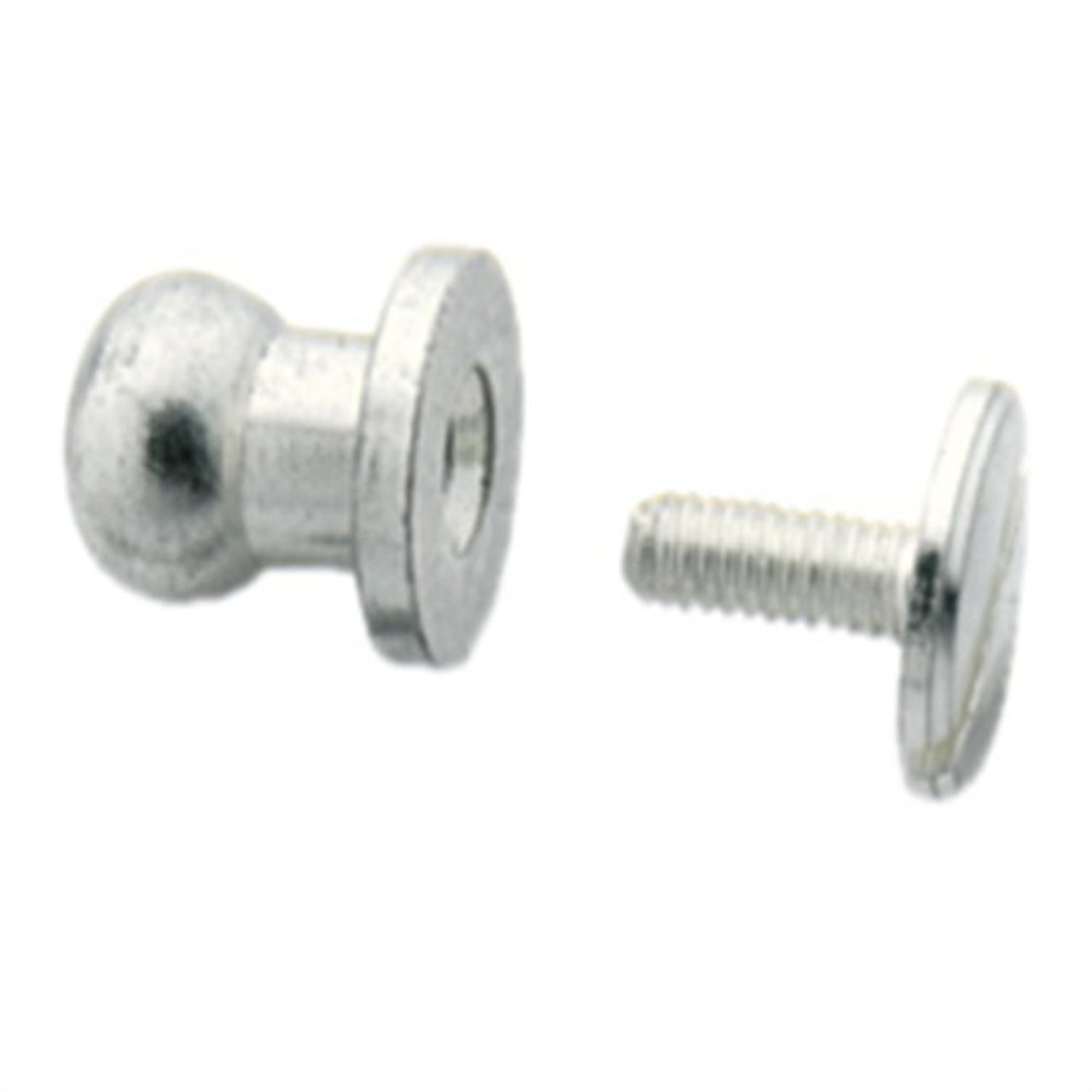 Button Stud 10mm Screwback