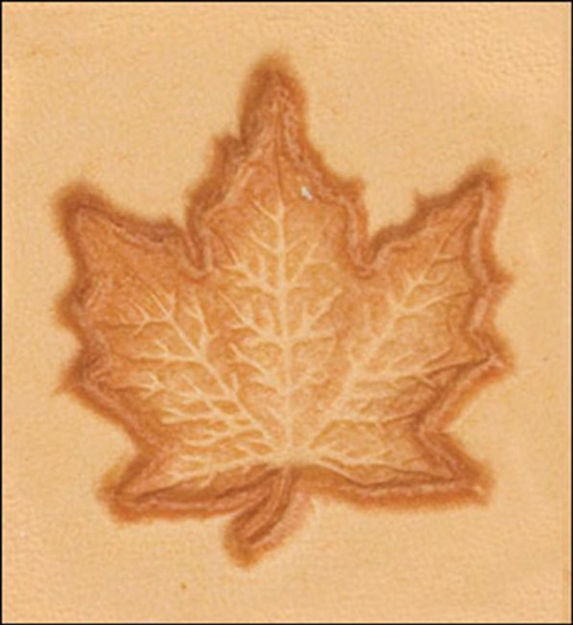 3D Maple Leaf Stamp