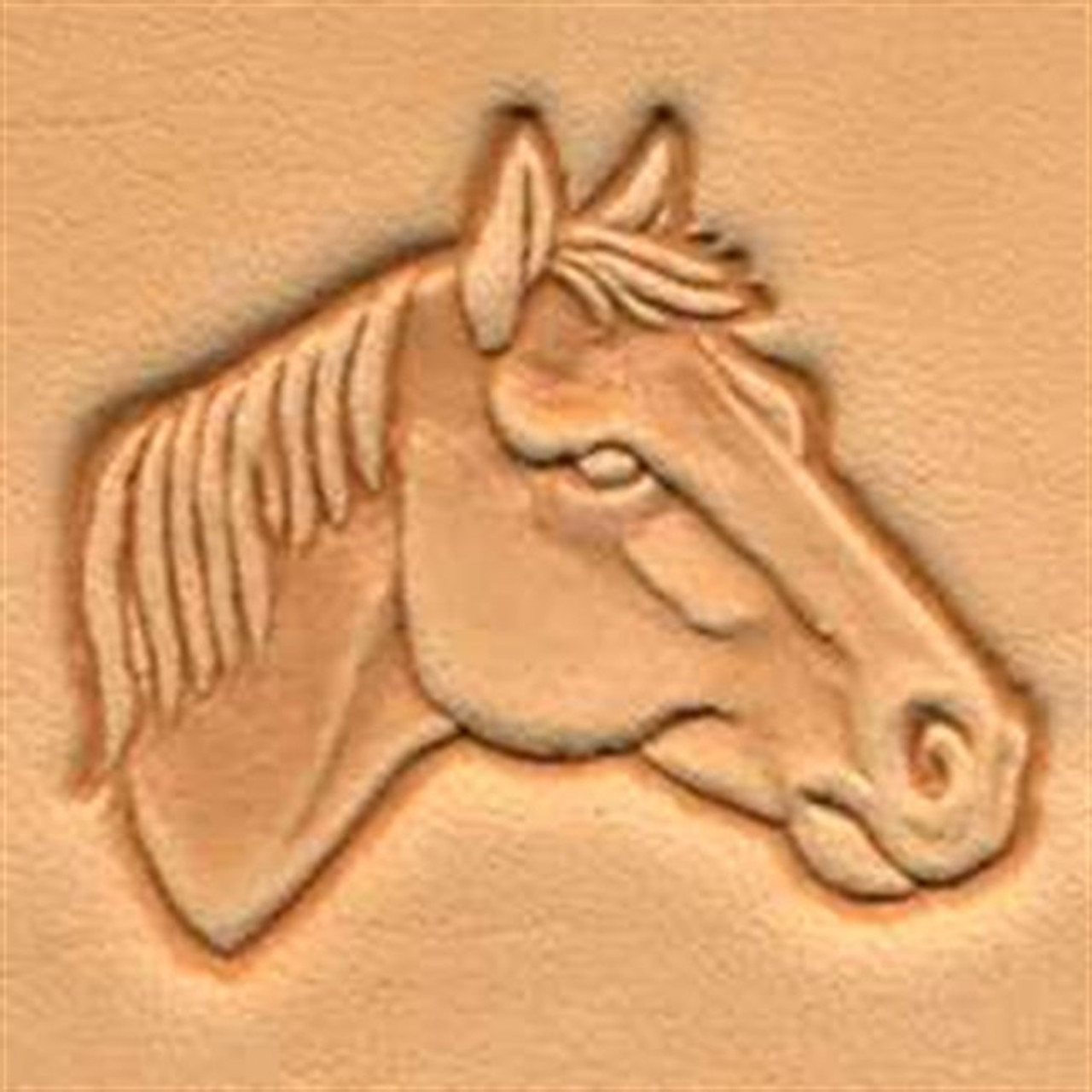 Craftool 3d Horse Head Right Stamp 88342 00 By Tandy Leather