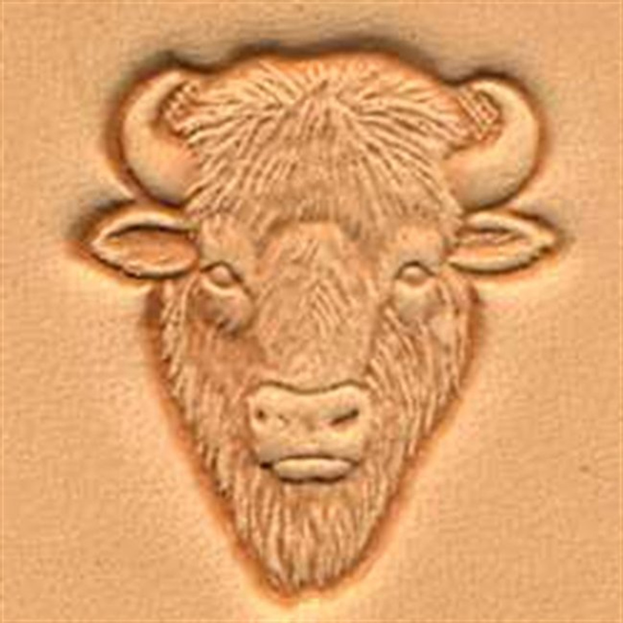 Craftool 3D Buffalo Head Stamp New 88458-00 by Tandy Leather