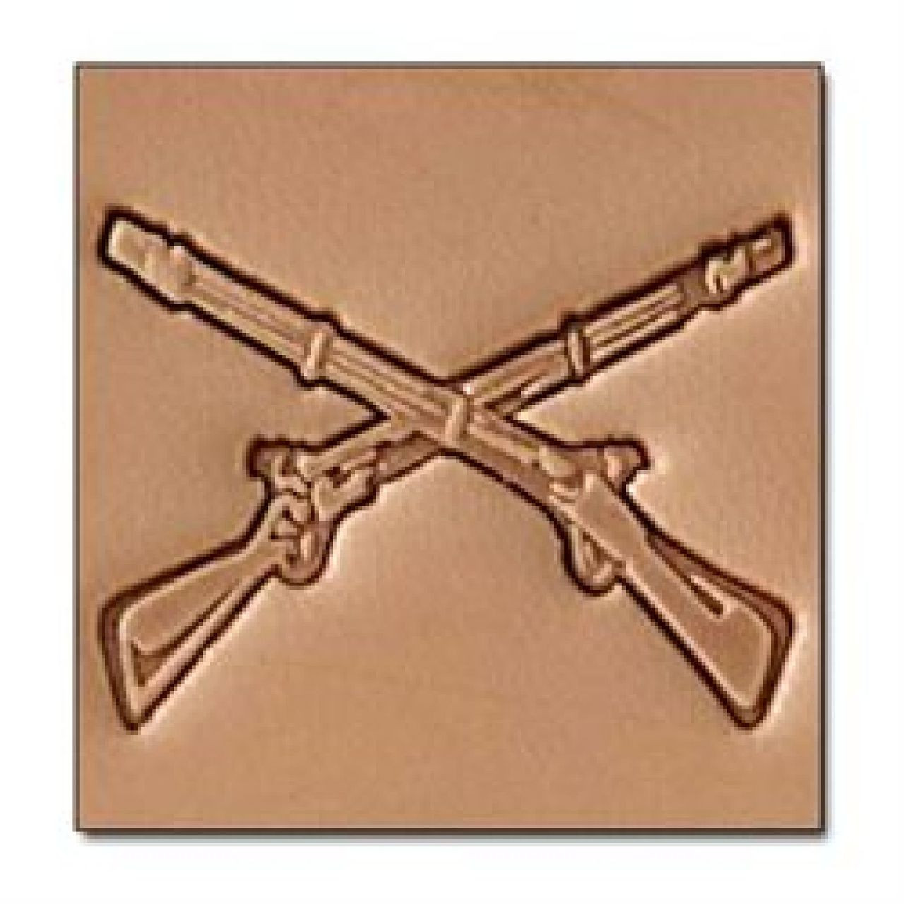 Craftool 3D Rifles Stamp 8688-00 by Tandy Leather