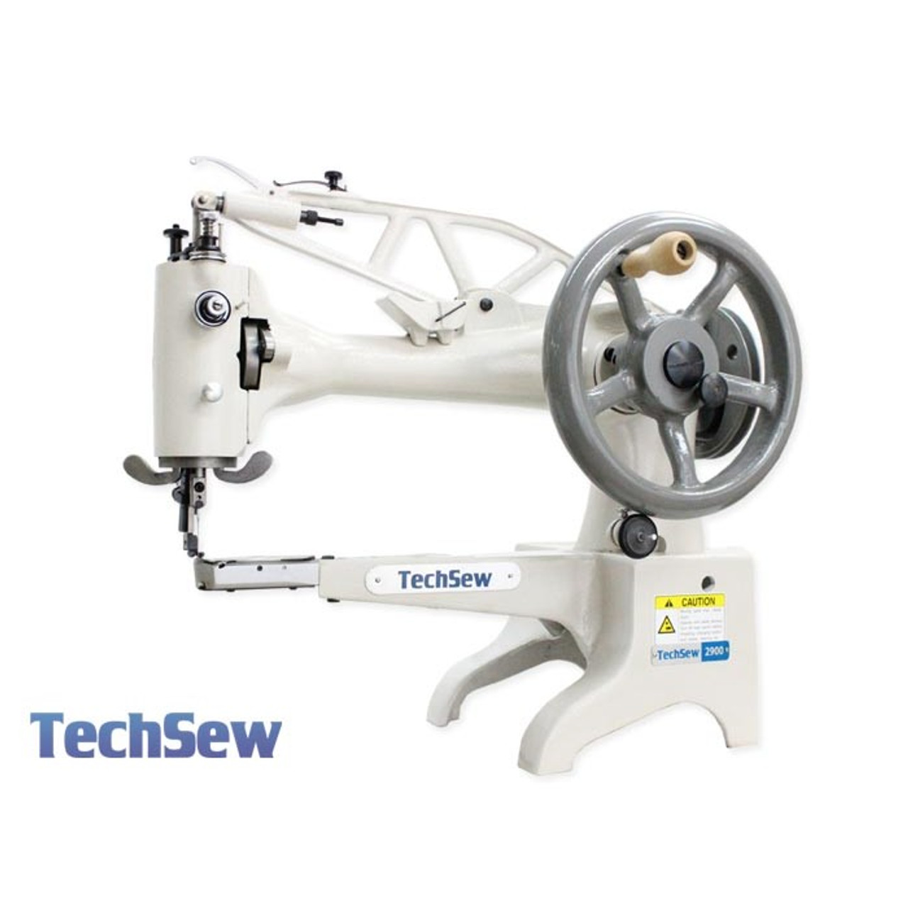 """Techsew 2900 Leather Patcher Sewing Machine 12"""" Long cylinder arm"""
