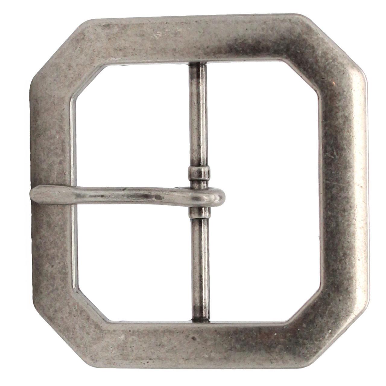 """Reenactment Belt Buckle Antique Nickel 2"""" 1588-21"""