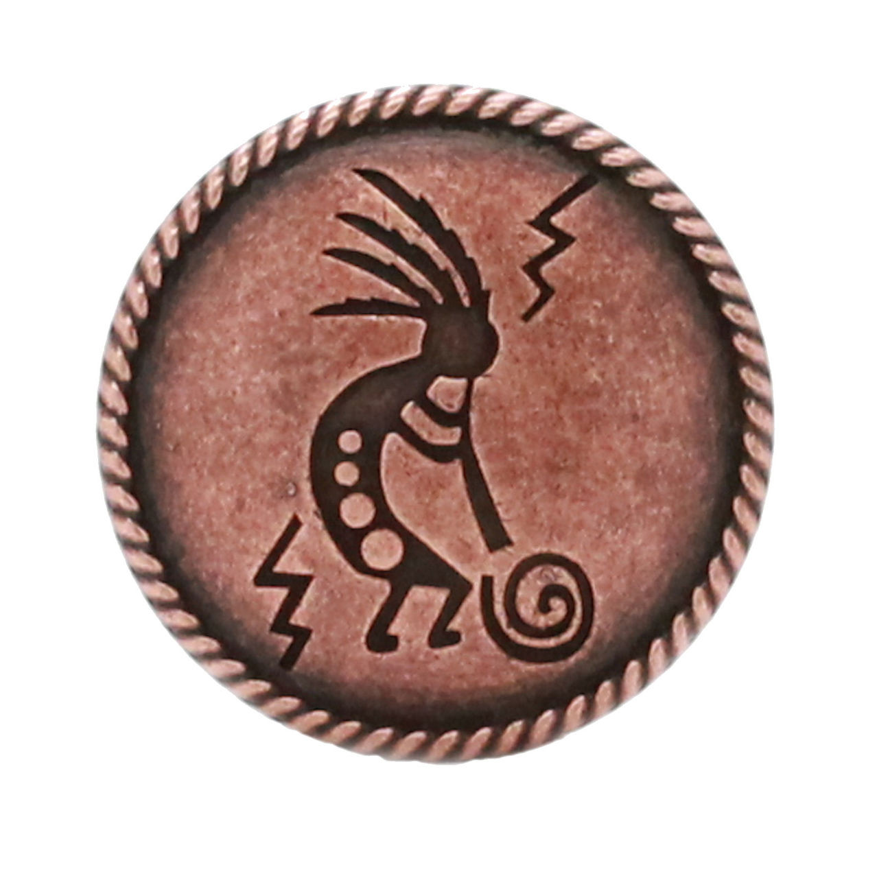 """Kokopelli Concho Antique Copper 1-1/4"""" 7952-10"""
