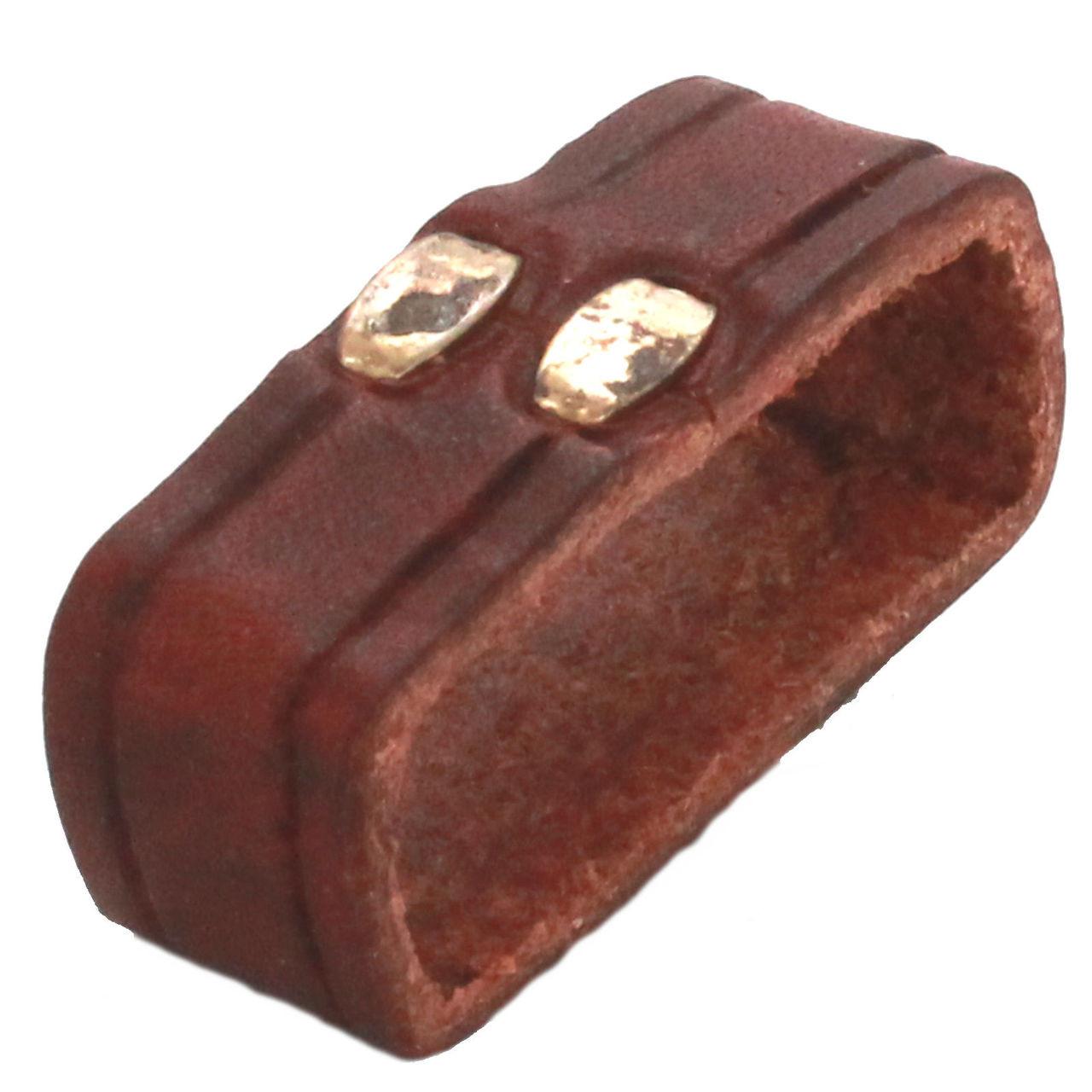 "Leather Loop Chestnut 1-1/2"" Bottom"