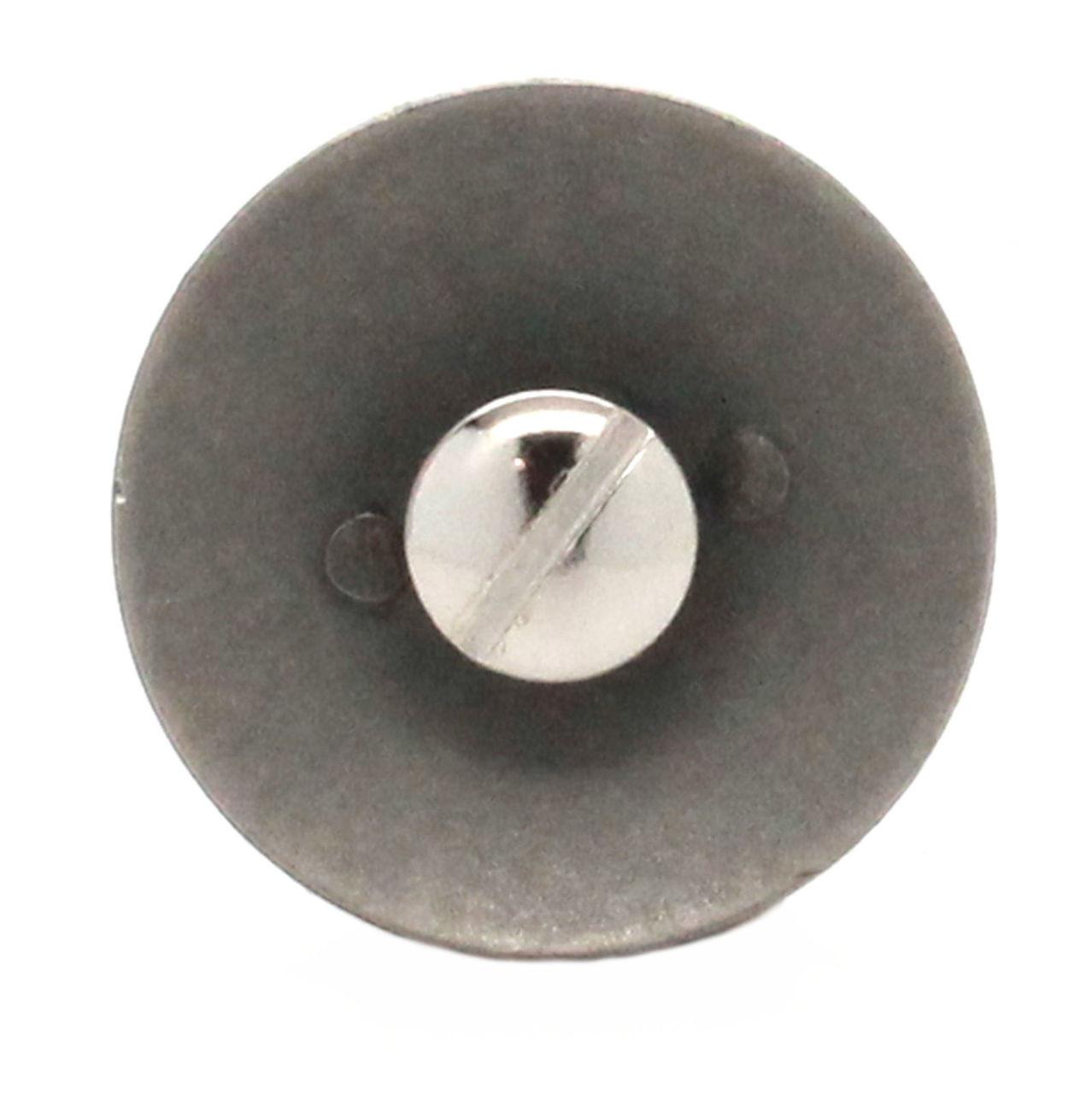 Navy Logo Antique Nickel Back