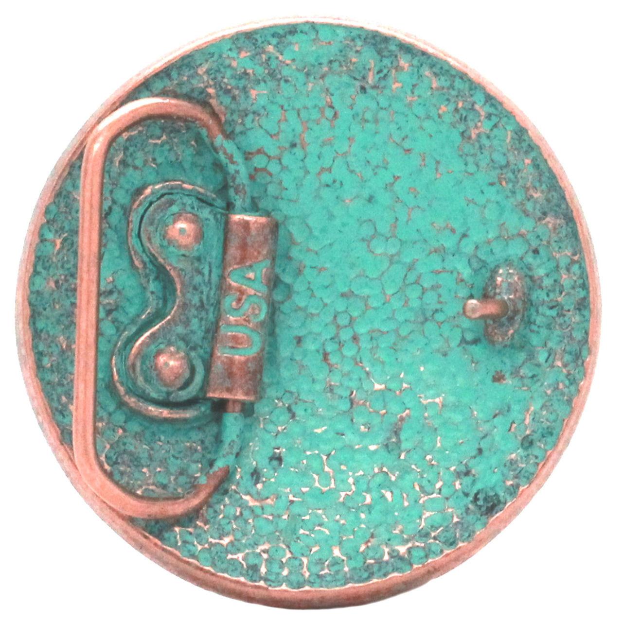 "38 mm Celtic Buckle 1-1//2/"" Antique Brass Plate 1637-01"