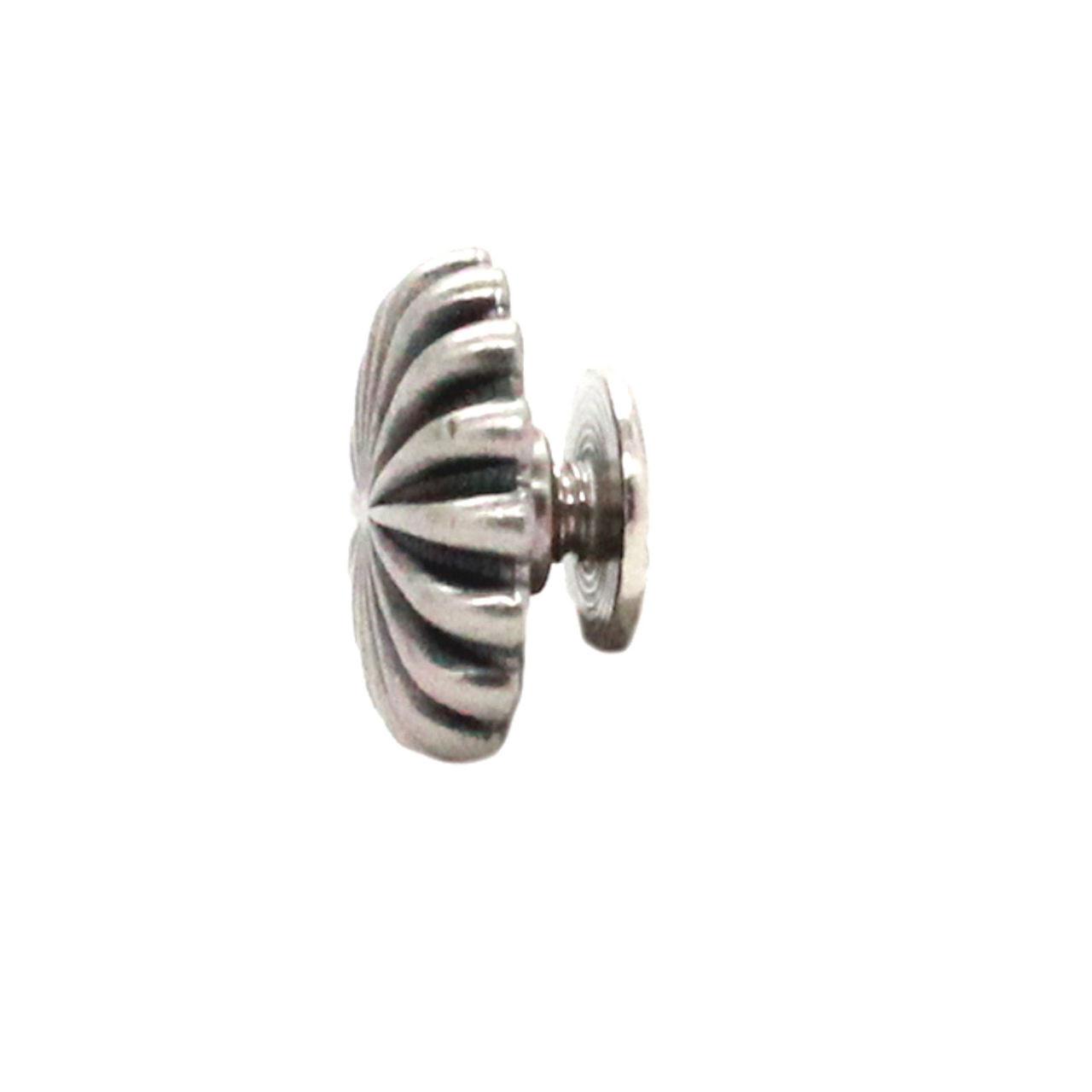 "Pinwheel Chicago Screw Concho Antique Nickel 1//2/"" 10 Pack 4862-21"
