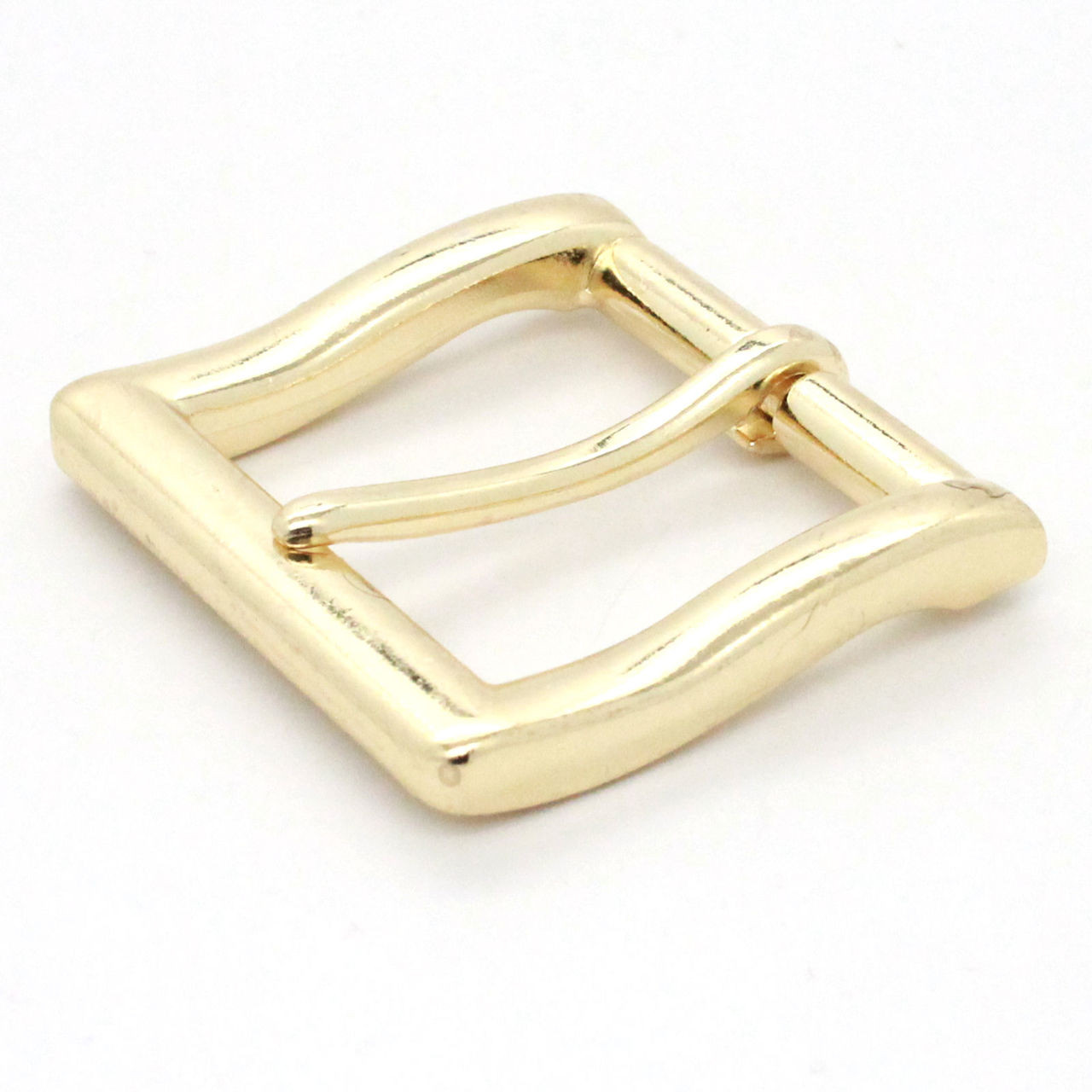 Square heel bar 1.5 inch brass plate front