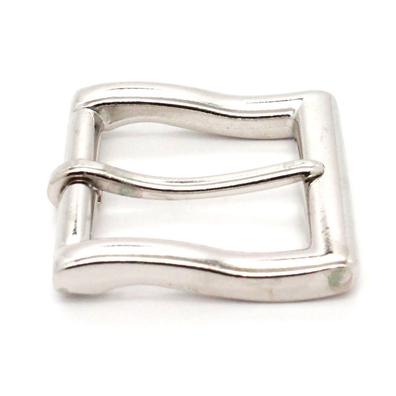Square heel bar 1.5 inch nickel plate side
