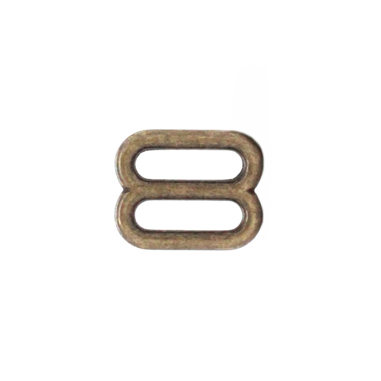 Strap Slide Adjuster 5/8 Inch Nickel Plate 20058-09