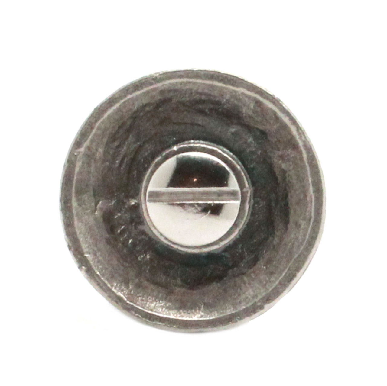 """Black Smith Pewter Cone Screw Back Concho Nickel Pewter 1.25"""" Back"""