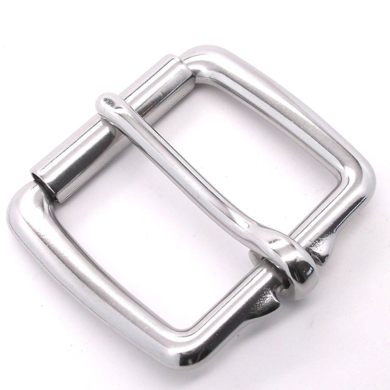Tandy Leather Stainless Steel Heavy Duty Roller Buckle for Various purposes
