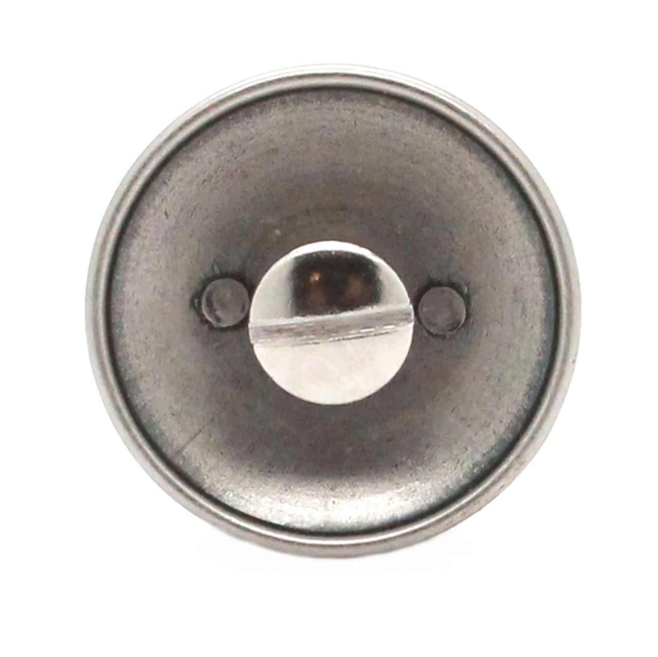 US Calvary Concho Antique Nickel Screw Back Back