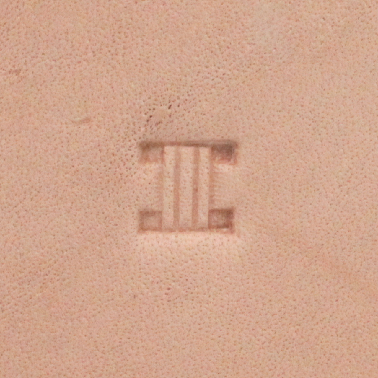 X581 Basketweave Square Stamping Tool Impression