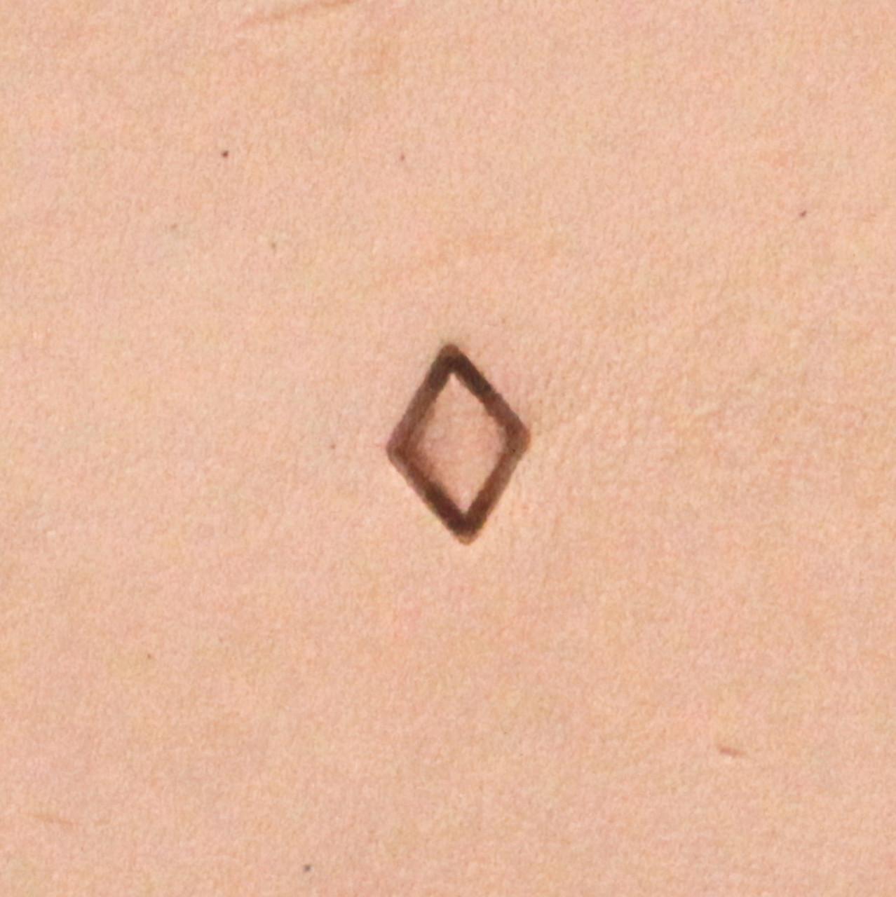 Diamond Geometric Stamp Tool S723 Impression