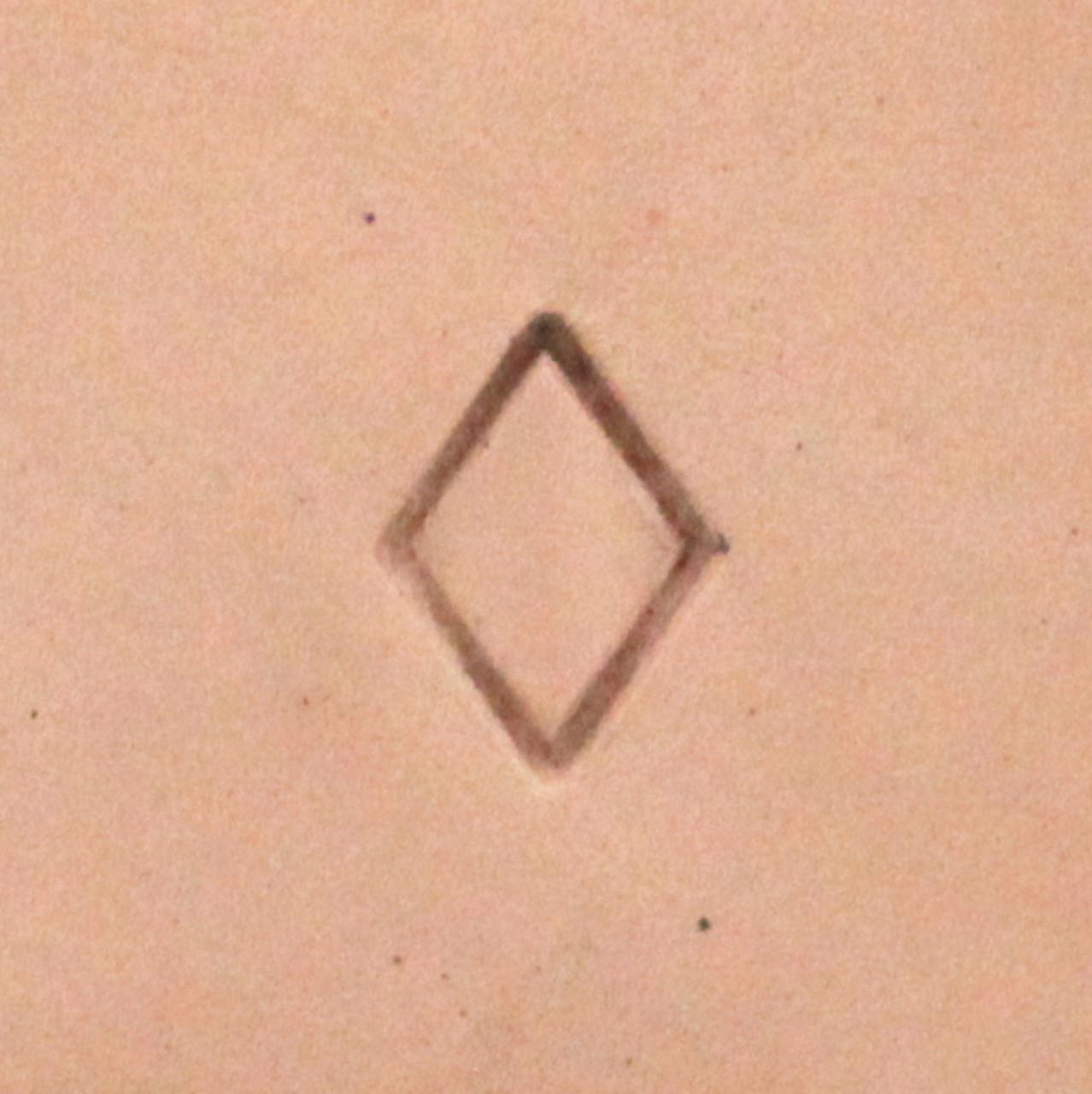Diamond Geometric Stamp Tool S722 Impression
