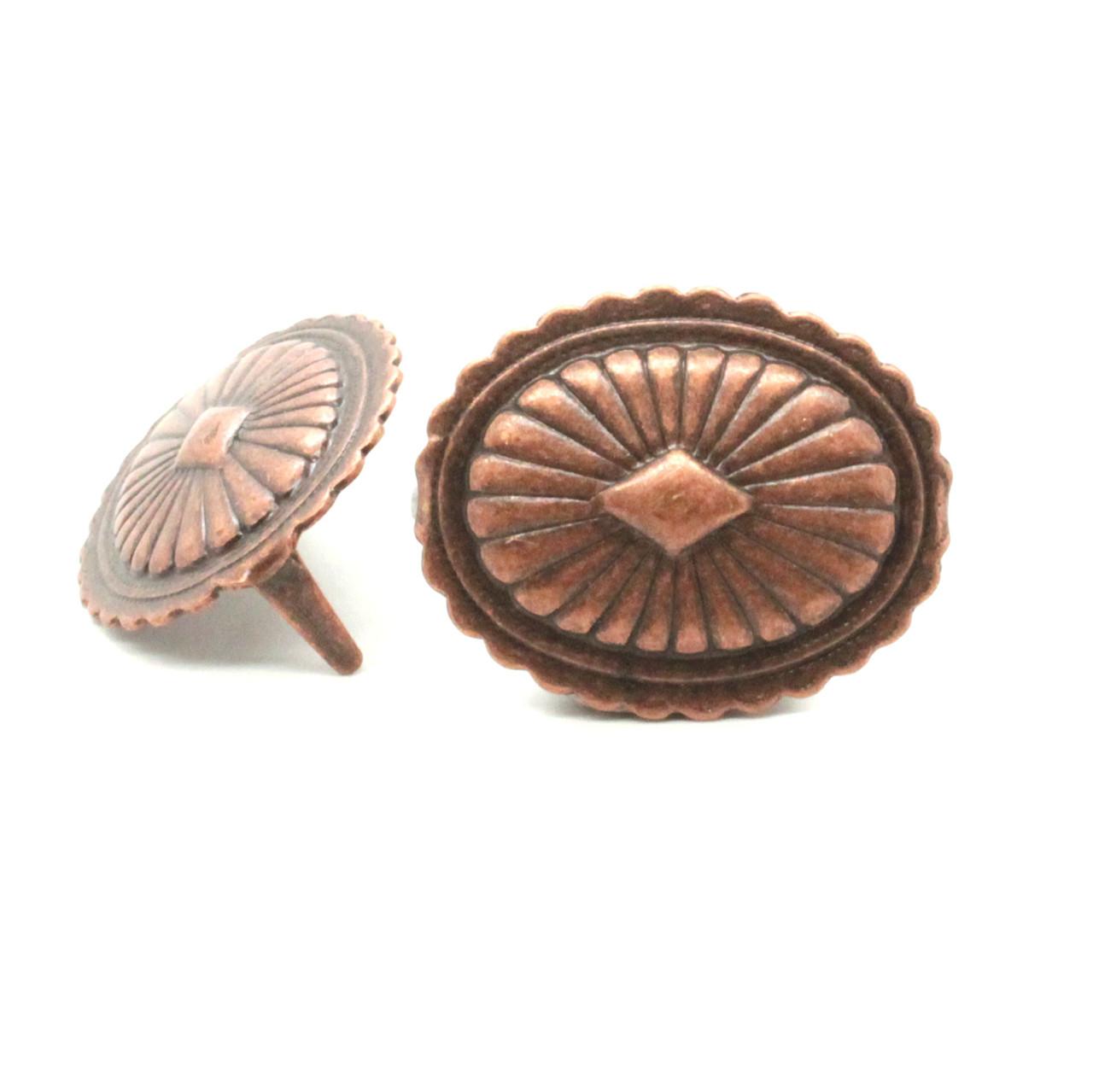 Santa Fe Oval Parachute Copper Antique Copper Spot 10 Pak NH54715-10
