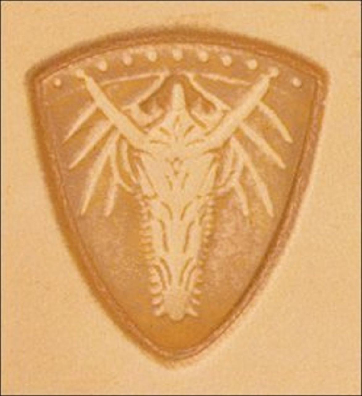Dragon Shield 3D Stamp