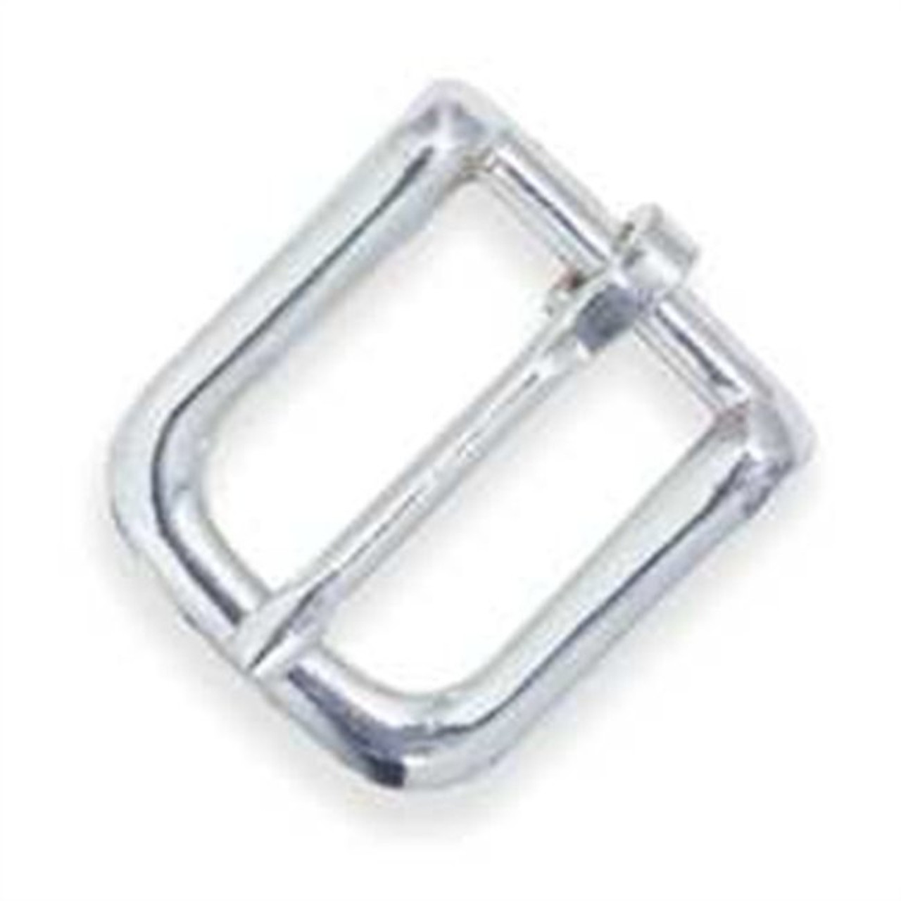2 Sizes Oval Bridle Buckle Solid Brass//Nickel Plated