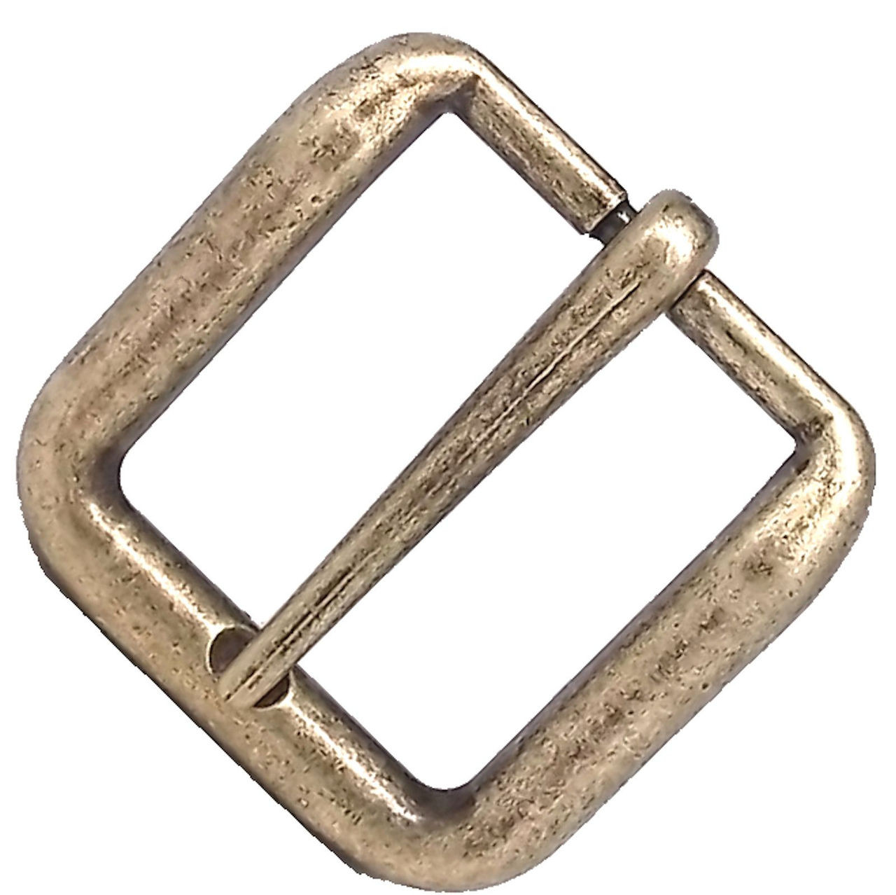 "Wave Belt Buckle Antique Brass 1-1/2"" 1641-09"