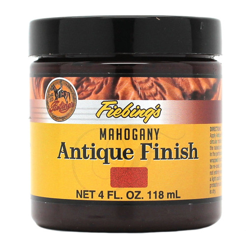 Mahogany Fiebing's Antique Finish Paste 4 oz