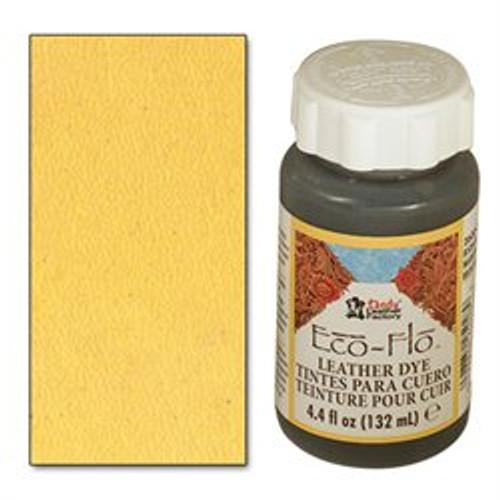 Eco-Flo Leather Dye 4.4 oz (132 mL) Sushine Yellow 2600-16