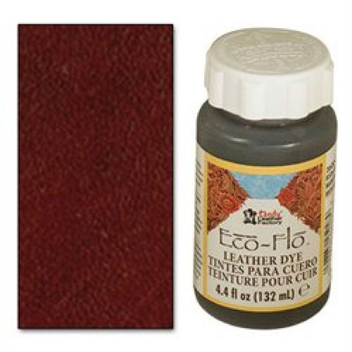 Eco-Flo Leather Dye 4.4 oz (132 mL) Dark Mahogany 2600-08