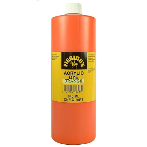 Orange Leather Paint 32 oz.
