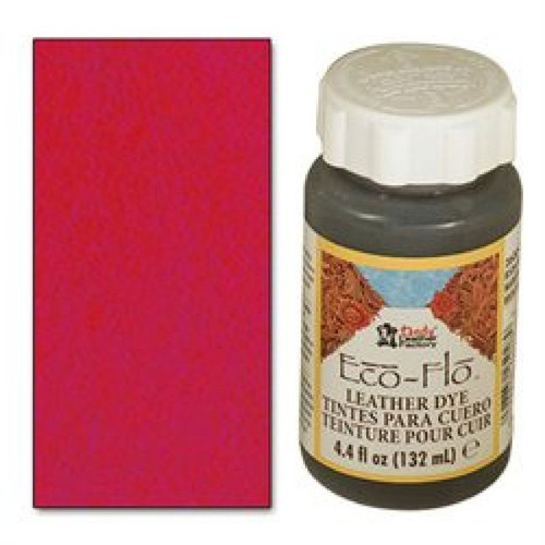 Scarlet Red Eco-Flo Leather Dye 4.4 oz (132 mL) 2600-11 - Stecksstore