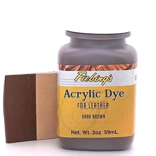 Dark Brown Fiebing's Acrylic Leather Paint