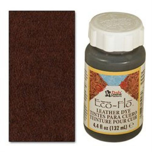 Eco-Flo Leather Dye 4.4 oz (132 mL) Bison Brown 2600-03