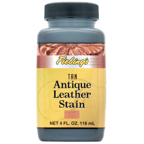 Tan Acrylic Antique Leather Stain