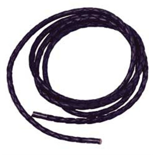 Vinyl Bolo Cord Black