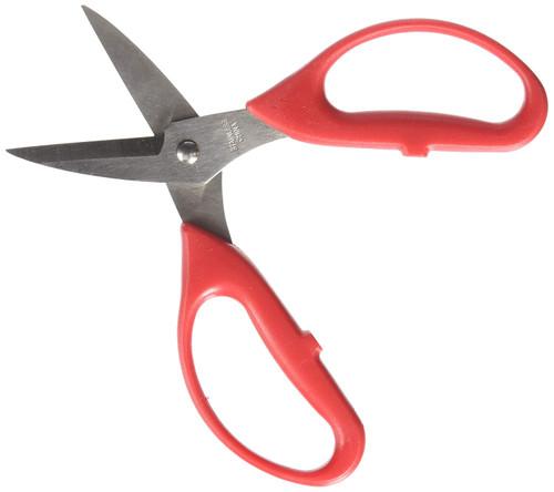 Economy Leather Scissors Open