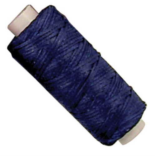 Waxed Braided 25 Yard Blue Cord 11210-06