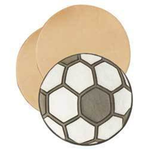 "Leather Practice Rounders 3-1/8"" 25 Pack 44126-25"