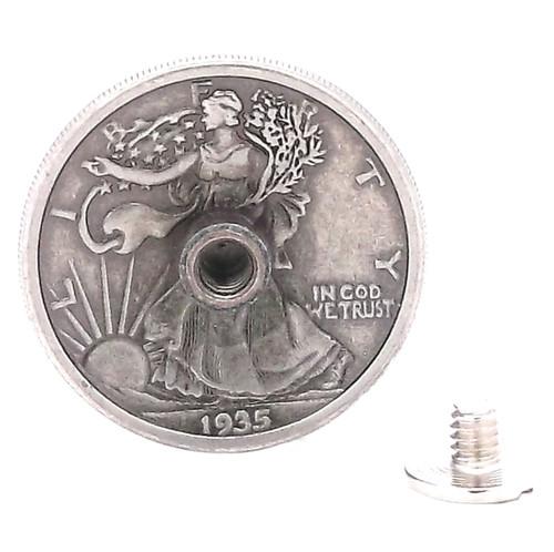 Liberty Half-Dollar Concho Back