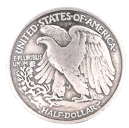 Liberty Half-Dollar Concho Front