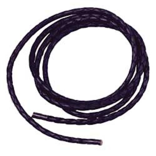 Leather Bolo Cord Black