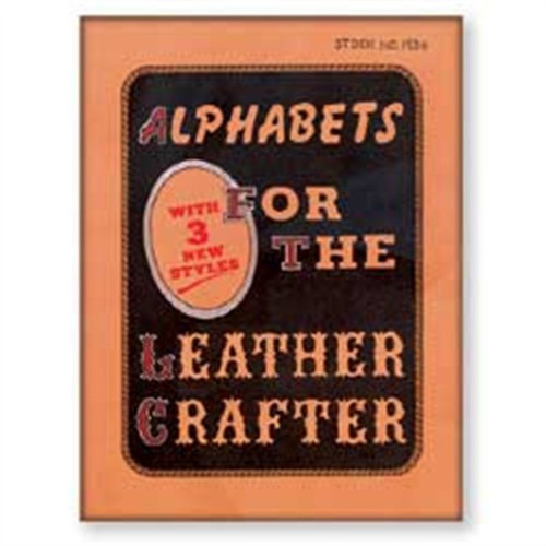 Alphabets For The Leathercrafter Book 48 Pgs. 61936-00
