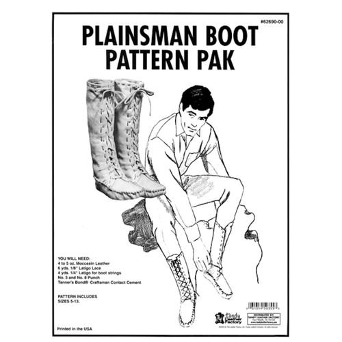 Plainsman Boot Pattern Pack 62690-00
