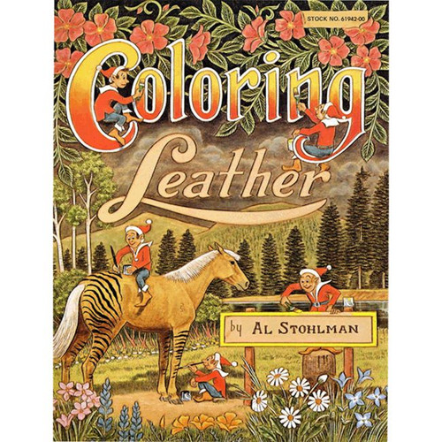 Coloring Leather Book By Al Stohlman 61942-00