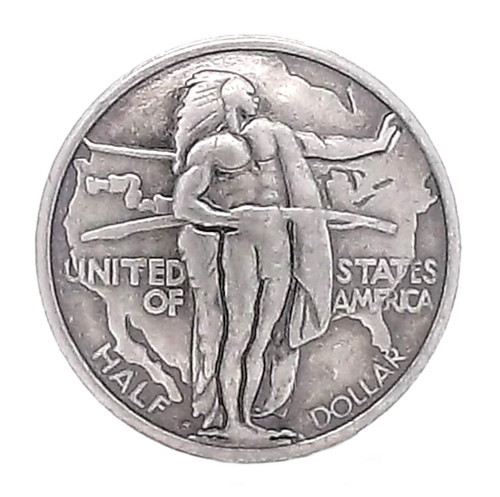 Oregon Trail Half Dollar Concho