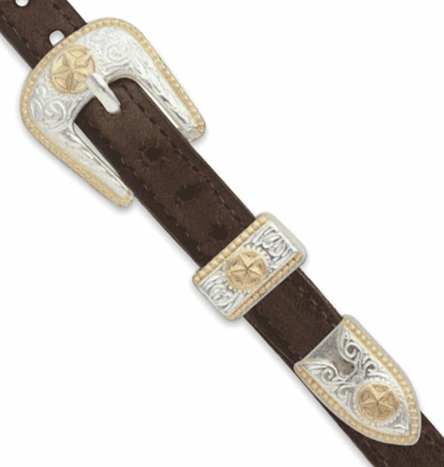 San Saba Hatband Buckle Set